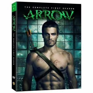 Arrow: The Complete First Season 1 (DVD, 2013, 5-Disc Set)Brand New