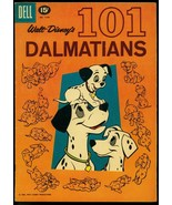 101 Dalmations- Four Color Comics #1183- 15 cent cover price- Dell VG+ - $80.70