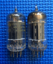 Matched Pair Raytheon Black Plate 5687 Preamp V... - $50.00