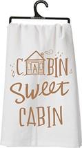 Cabin Sweet Cabin Tea Towel Towel - $13.21