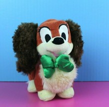 "Disney Store Plush Lady & The Tramp 6"" Stuffed Animal Dog Cocker Spaniel... - $12.37"