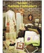 Vintage Nostalgic Machine Embroidery Craft Pattern Book - $6.99
