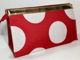 Elizabeth Arden Large Cosmetic Makeup Bag (Red, White, Blue, gold) - $6.75