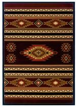 "5x8 (5'3"" x 7'6"") Southwestern Lodge Tribal Carved Plush Area Rug *FREE SHIPPING - €148,21 EUR"