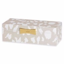 Kate Spade New York Garden Drive Jewelry Box Animal Lacquer Large Bow Le... - $58.00