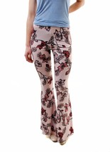 For Love & Lemons Women's New Floral Trousers Pants Pink Size XS RRP $15... - $98.00