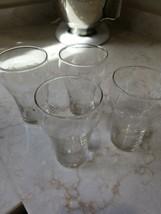 Vintage  Set Of 4 Coke glasses  Chinese Hebrew Japanese more - $6.79