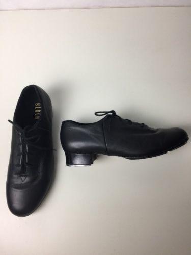 Bloch S0405L Women/'s Size 10.5 Medium Black Lace Up Jazz Soft Jazz Dance Shoes