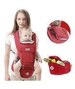 360 Ergonomic Baby Carrier Adjustable Backpack with Hip Seat, 12 Positio... - $43.70