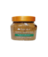 Tree Hut MOCHA & COFFEE BEAN Firming Sugar Scrub with Caffeine 18 oz Fre... - $26.57