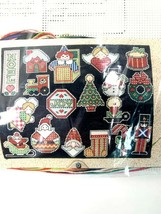 Design Works Signs of Christmas Ornaments Set of 18 Cross Stitch Kit #1123 - $29.69
