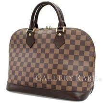 Louis Vuitton Alma Damier Canvas Ebene N51131 Handbag France Authentic 4... - $737.49