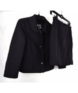 Dolce & Gabbana D&G Suit Skirt Quilted Blazer Black 42 Italy Womens - $148.50