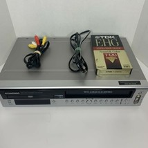 Sylvania DVC850C DVD VCR VHS Player Combo Recorder MP3 Player With Remot... - $69.29