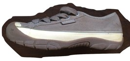 Keen 6091 Womens Reisen Gray Suede Toe Cap Lace-Up Casual Shoes Sneakers 5.5M - $34.64