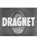 DRAGNET 1950's 64 Episodes plus BONUS - $14.95