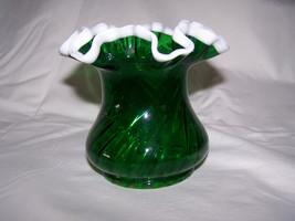 Delicate Little Emerald Green Snow Crest Spiral... - $120.00