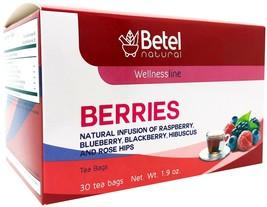 Red Berries Tea / Frutos Rojos Te by Betel Natural - Powerful Antioxidants - $9.95