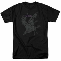 The Birds Alfred Hitchcock vintage horror-thriller movie graphic t-shirt UNI893 image 2