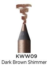 KISS NEW YORK PROFESSIONAL WATERPROOF WONDERS EYELINER 'DARK BROWN (SHIM... - $7.99