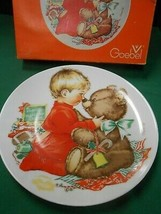 Great Goebel Collector Plate Charlot Byi 1976 CHRISTMAS- W.Germany - $6.52