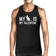 My Cat My Valentine Mens Tank Top Valentine's Gifts For Cat Owner - $14.99+