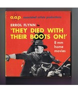 They Died With Their Boots On ORIGINAL Vintage AAP 8mm Film Errol Flynn - $18.55