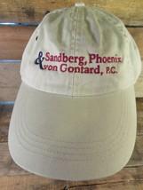Sandberg Phoenix & Von Gontard Pc Adjustable Adult Hat Cap - $8.90