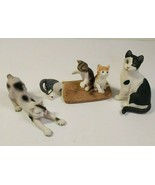 Schleich House Cats and Kittens, Set of 3, Retired, 2008 & 2010, Educati... - $17.77
