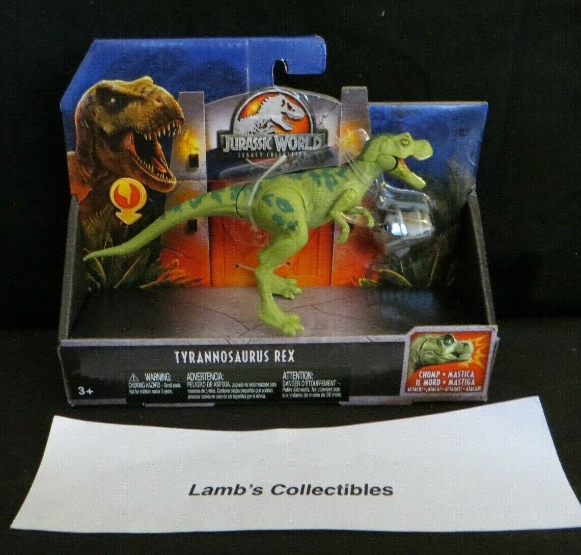 Primary image for Jurassic World Legacy Collection chomping Tyrannosaurus Rex Mattel dinosaur toy