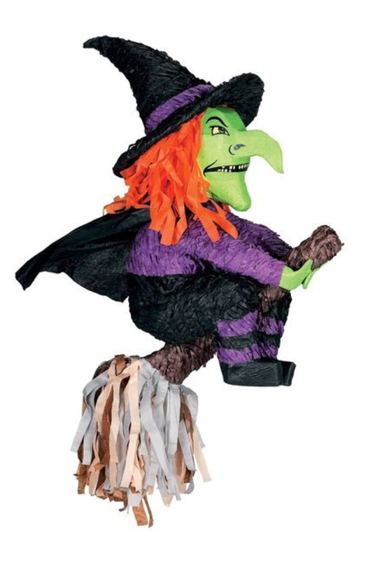 Witch Pinata - Halloween Party Supplies