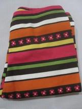 NWOT Girls Gymboree Fall Multi Colored Striped Leggins Pants Size 6 - $6.99