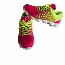 reebok womens sneakers ATV19 size 5 pink green work out running shoes at... - $40.85