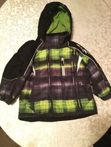 Boys Size 4  Zero Xposur coat jacket   All Weather black and green hoody - $19.25