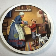 """Norman Rockwell """"The Pantry Raid"""" 11th Plate in Rockwell's Mother's Day ... - $17.87"""