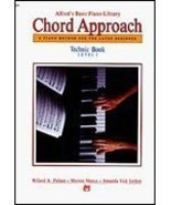 Alfred 00-2654 Basic Piano- Chord Approach Technic Book 1 - Music Book - $9.79