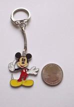 New  Mickey Mouse Enamel Charm Key Chain Zipper Pull Clip On Cartoon Cha... - $4.21