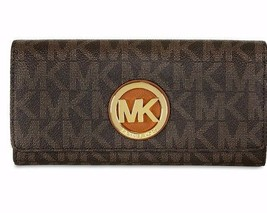 New Michael Michael Kors Women Fulton Carryall Wallets Variety Colors - £92.52 GBP
