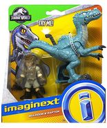 Imaginext Jurassic World Fallen Kingdom, Muldoon & Raptor Action Figures - $12.99