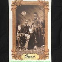 Gothic Horror-ZOMBIE FAMILY PORTRAIT CLING-Wall Sticker Halloween Decora... - €4,40 EUR