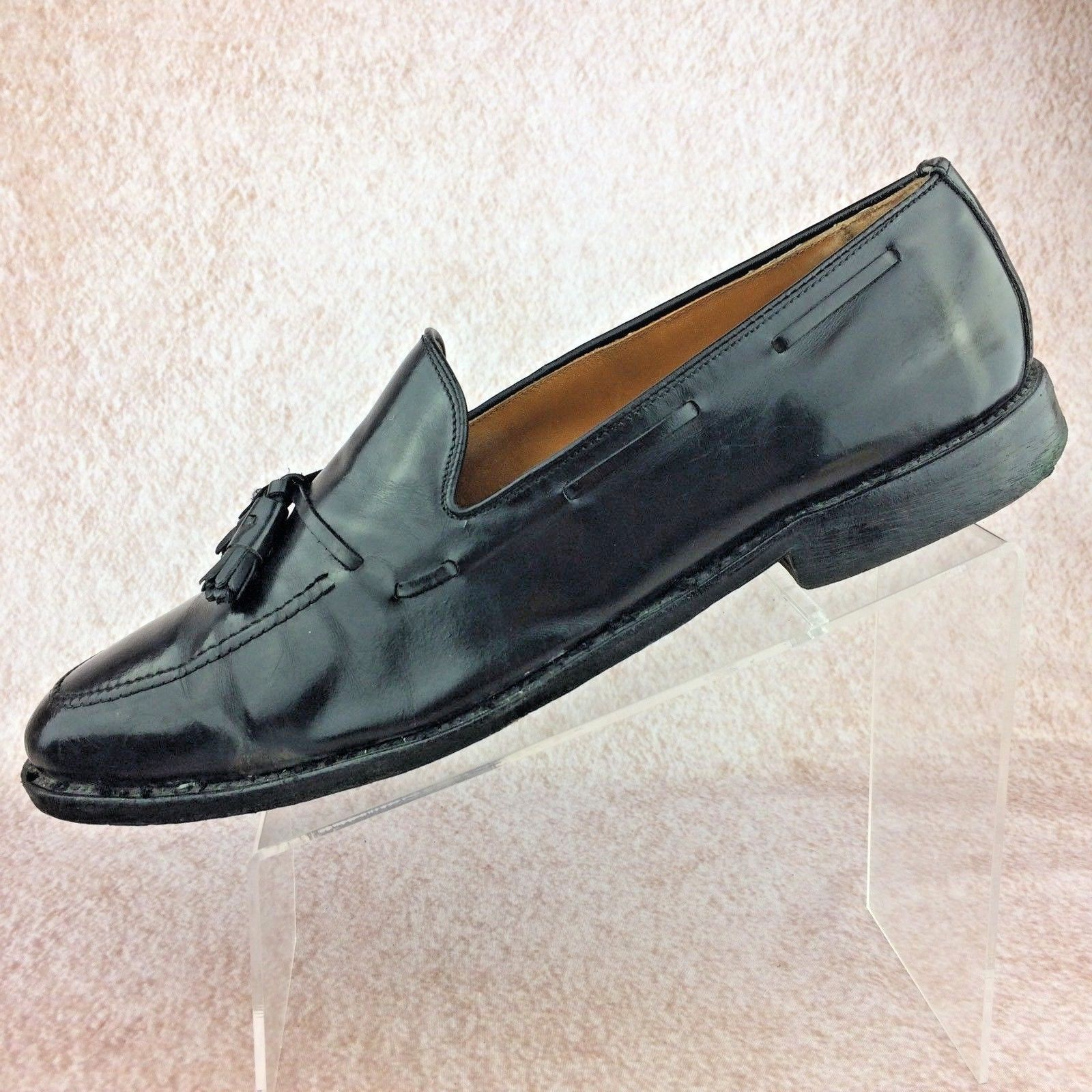 fdd1dc65dae TO BOOT NEW YORK MEN S CAP TOE OXFORD SHOES MEDALLION SIZE 10 M PREOWNED  CLEAN!