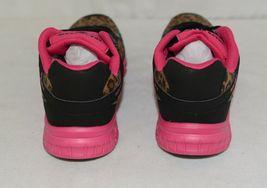 Crazy Train RUNWILD14 Black Pink Cheetah Sneakers Size 11 image 4