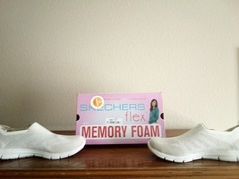 Women's Skechers Air - Cooled Memory Foam Shoes - $25.00