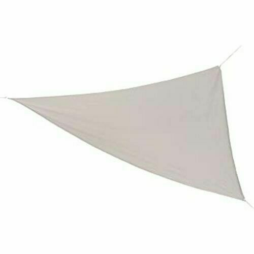 Coolaroo Ready-To-Hang Shade Triangle Sail 13 ft x - Pebble NIP