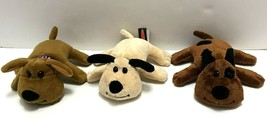 "Melissa & Doug Lot of 3 Plush Puppy Puppies Cocoa - Bandit - Sandy 7"" each New  - $21.78"