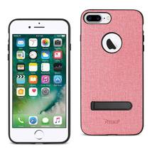 Reiko iPhone 7 Plus/8 Plus Rugged Texture TPU Protective Cover (Pink) - $9.35