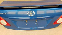 09-10 Toyota Corolla S Trunk Lid W/ Spoiler & Taillights image 3
