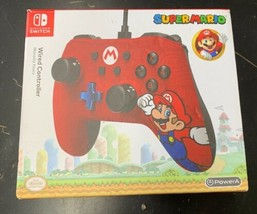 PowerA 1506261-01 Wired Mario Controller for Nintendo Switch - Red - $14.84