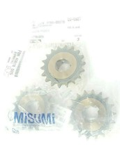 LOT OF 3 NEW MISUMI FBN 40B18 D25 FINISHED BORE SPROCKETS FBN40B18D25