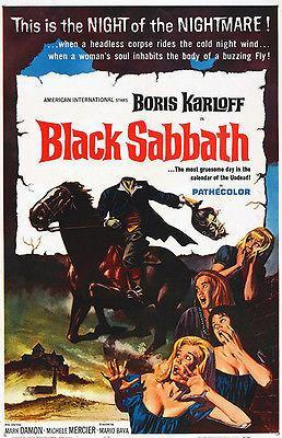 Primary image for Black Sabbath - 1963 - Movie Poster